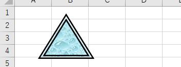 枠線が二重線になった画像