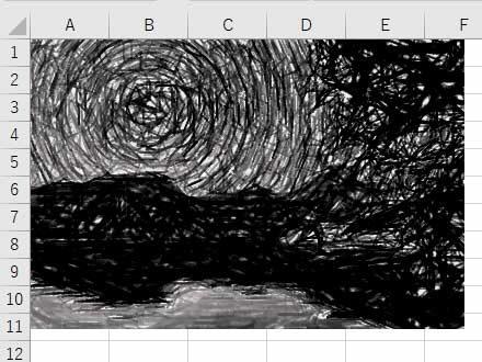 鉛筆:モノクロの効果を付けた写真