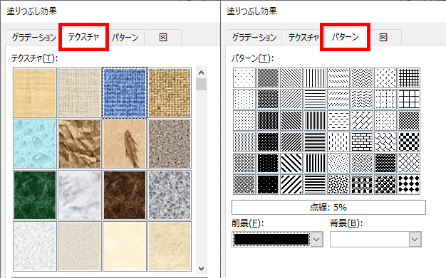 テクスチャとパターンの画像